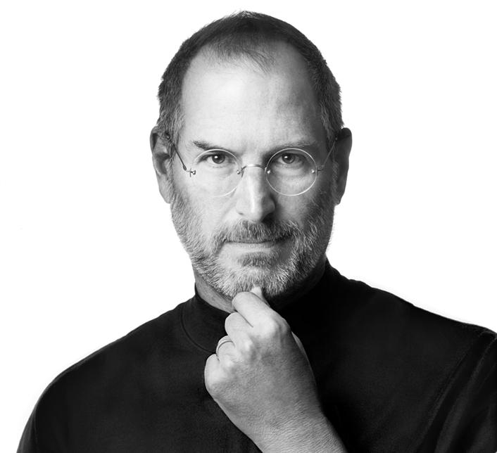 Steve Jobs and social media
