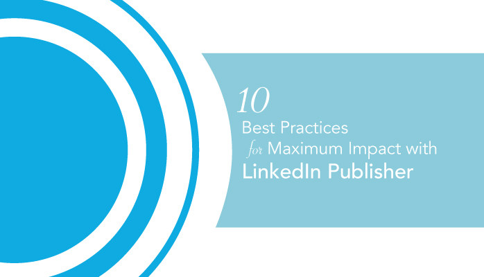 How to use linkedin publisher